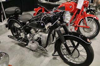 OldMotoDude: 1951 BMW R51/2 sold for $15,000 at the 2017 Mecum ...