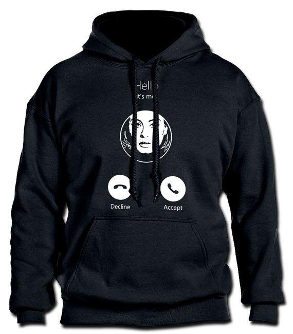 Hola es Me ADELE exclusivo hoodie inspirado IOS por CristeesDesign
