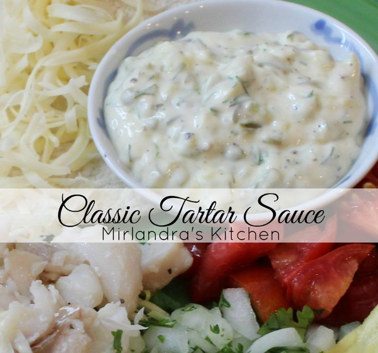 This tartar sauce is excellent and much better than anything you can buy.  It's also easy to throw together in minutes.  Why not make it from scratch?