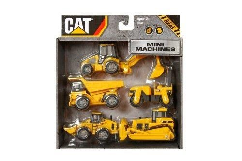 "Toy State CAT Mini Machine 3"" 5-Pack"