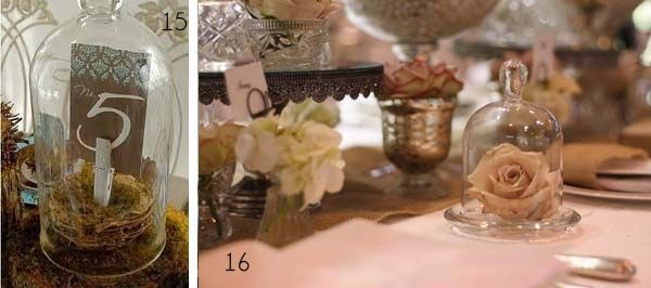 54 best images about bell jars cloches wedding on for Bell jar ideas