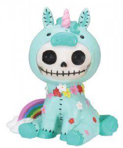 Furry Bones Unicorn figurine