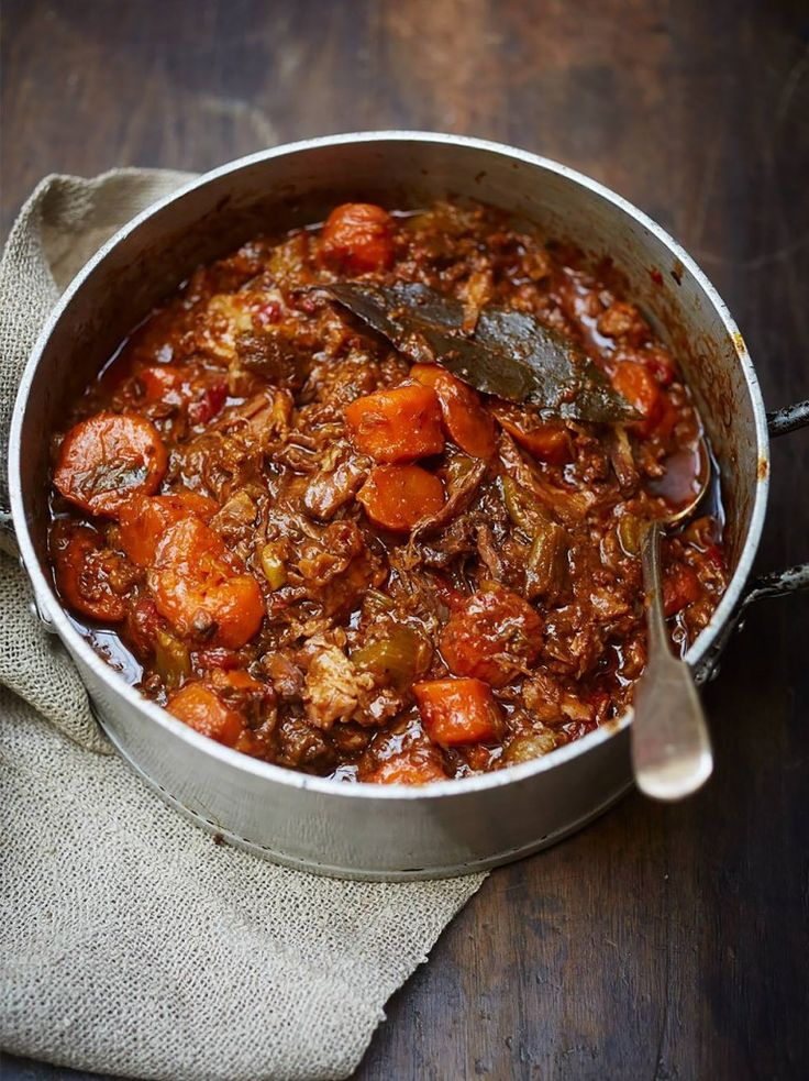 Insanely good oxtail stew. Indulge your tastebuds And not your waistline!Your butcher will cut up some oxtail, free range,organic is best- that way you get all the goodness and none of nasties like antibiotics.  Jamie Oliver