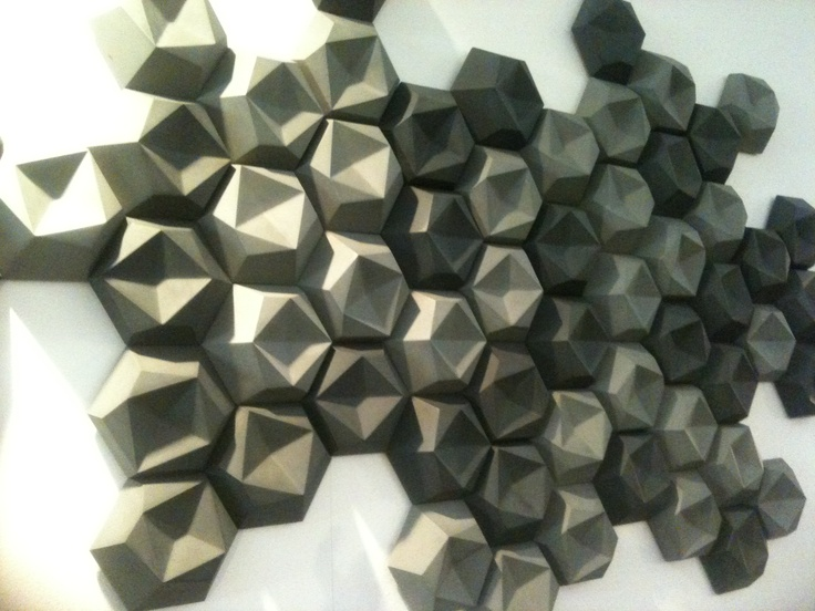 Perfect EDGY   3D TILES BY Edgy TILES   Surface Design Show