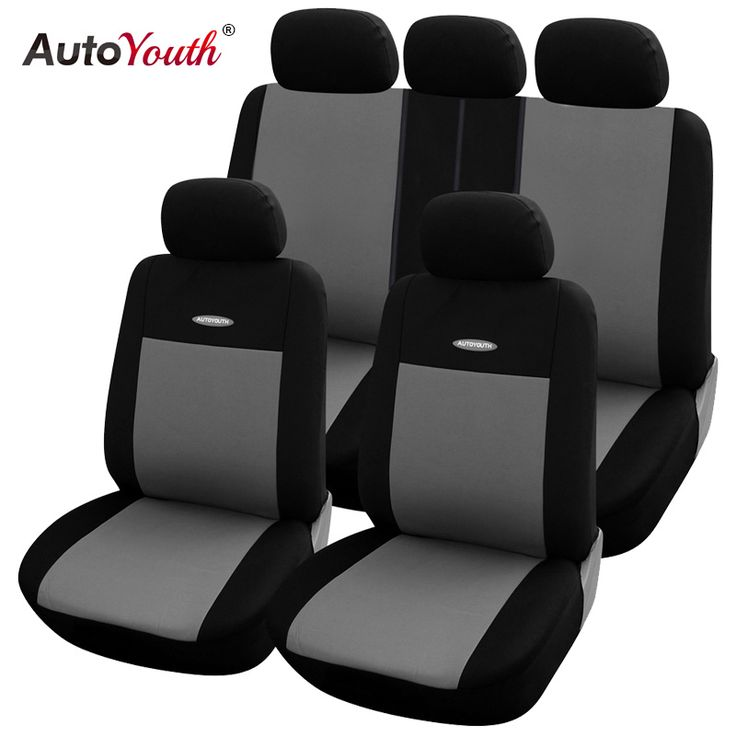 High Quality Car Seat Covers Universal Fit  Polyester 3MM Composite Sponge Car Styling lada car covers seat cover accessories <3 Click the image to visit the website