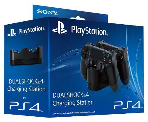 Sony PlayStation DualShock 4 Charging Station (PS4) Sony http://www.amazon.co.uk/dp/B00D781PSI/ref=cm_sw_r_pi_dp_xSyxwb0TK8PAF