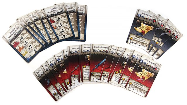 Zombicide: Black Plague - Wulfsburg - cards