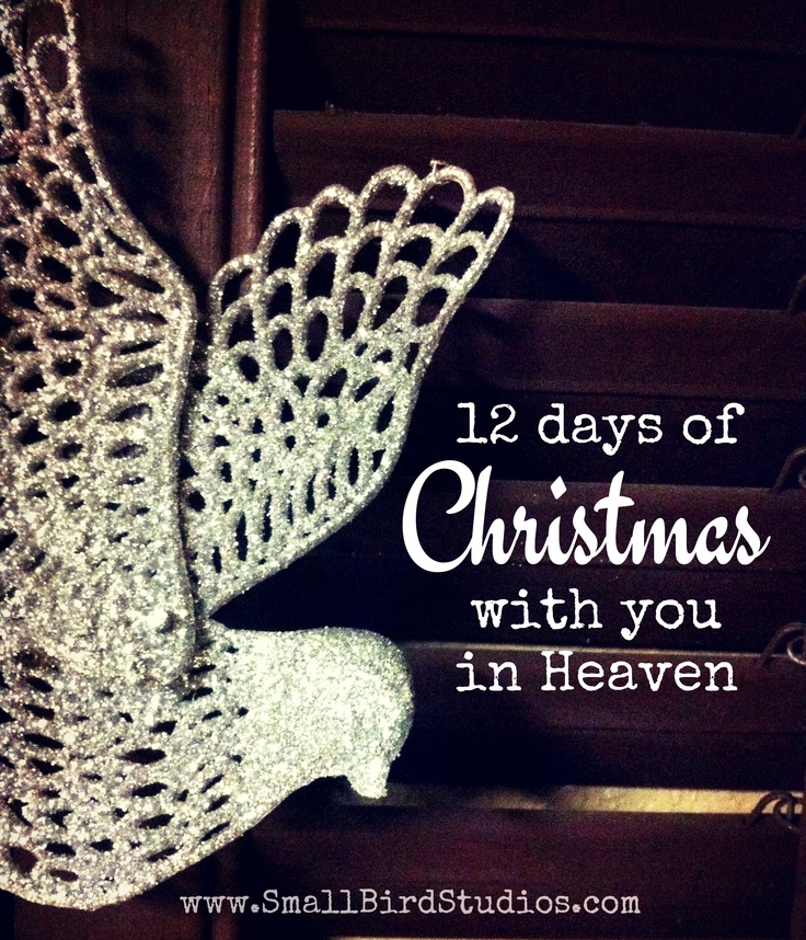 12 Days of Christmas With You in Heaven   loss and holidays