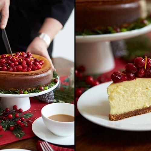 If you're looking for a great way to top off a dinner with friends or family, try Chef Lynn Crawford's signature Cranberry Gingerbread Cheesecake for an amazing homemade treat.