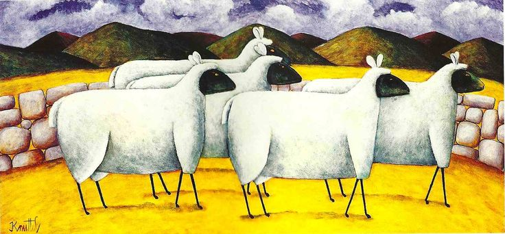 Wolves in sheeps clothing by Graham Knuttell.