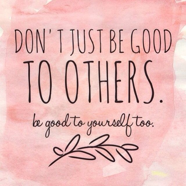 Important reminder! Be good to yourself too warrior!   https://www.recoverywarriors.com