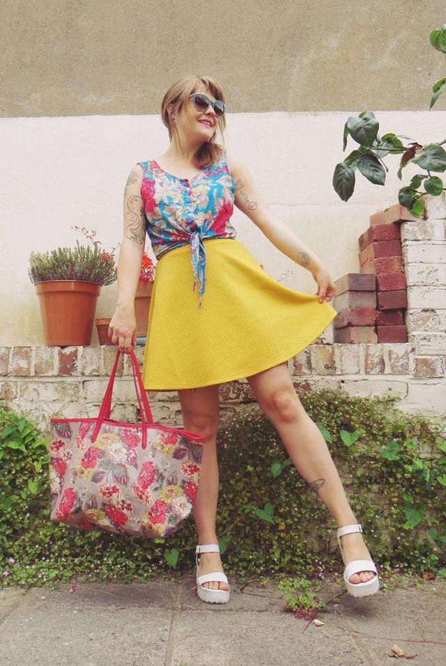 being little • british fashion & lifestyle blog.: colourful summer.