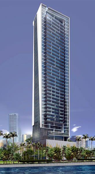 Icon Tower,Panama City :: 45 floors, height 163m