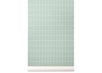 superbe papier peint 'grid' Ferm Living | shop pour enfants Le Petit Zèbre