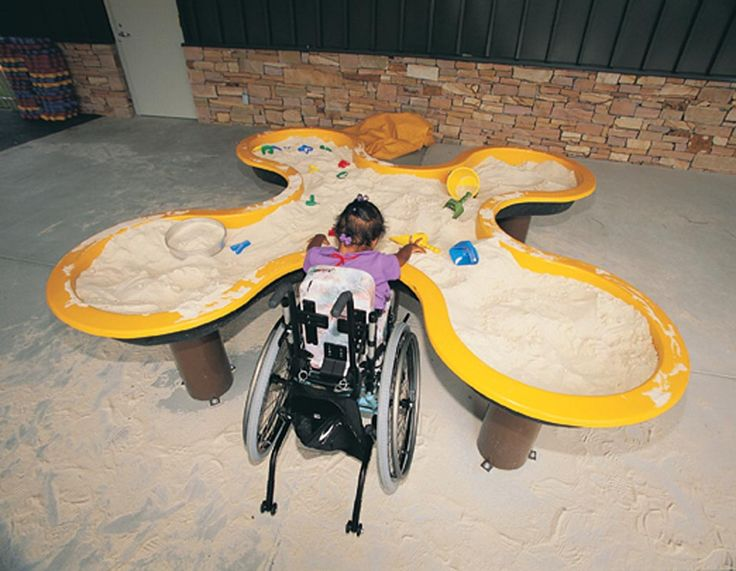 Clover Leaf Sand Box #Inclusive #Playground Component