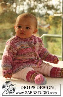DROPS Baby 16-26 - DROPS sokker i �Fabel�. - Free pattern by DROPS Design