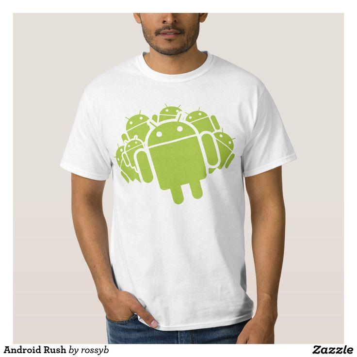 Android Rush T-shirt. Regalos, Gifts. #camiseta #tshirt