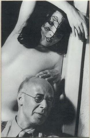 Anaïs Nin & Henry Miller. Foto de ?