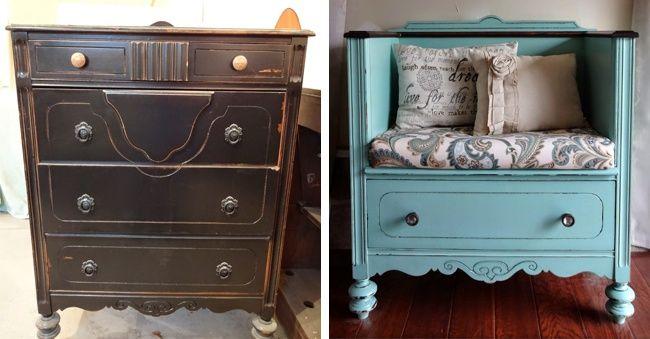 15 idee brillanti per dare nuova vita a vecchi mobili