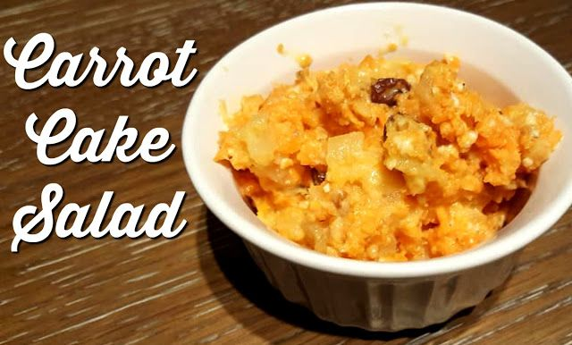 Reviews, Chews & How-Tos: Carrot Cake Salad #fantasticalfoodfight