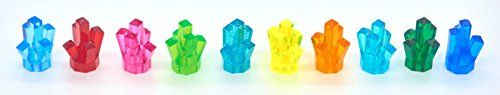 LEGO Power Miners Power Crystals in 10 Different Colors (Includes Rare and Retired Colors) -- Click image to review more details.