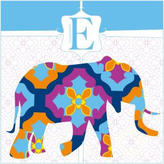 Animal Alphabet Prints by jHill - with your child's monogram: Elephants, Animal Alphabet, Home Accessories, Duvet Covers, Jhilldesign Com, Jhill Design, Nurseries Ideas, Alphabet Prints, Kids Rooms