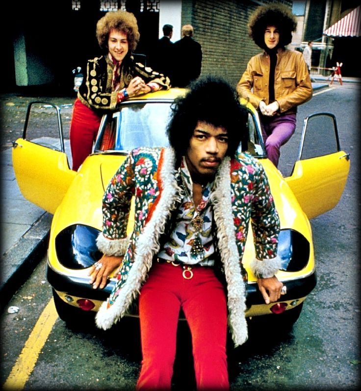 The Jimi Hendrix Experience 1967.