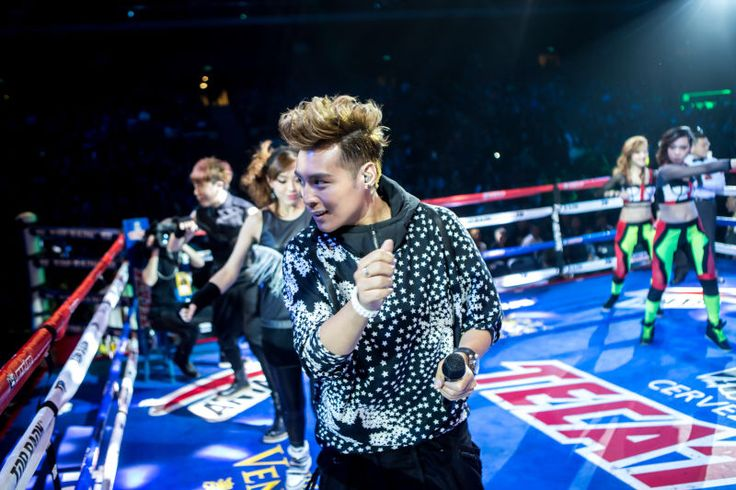 AJ on Top Rank Boxing Clash in Cotai II Stage at the Cotai Arena, Venetian Macao