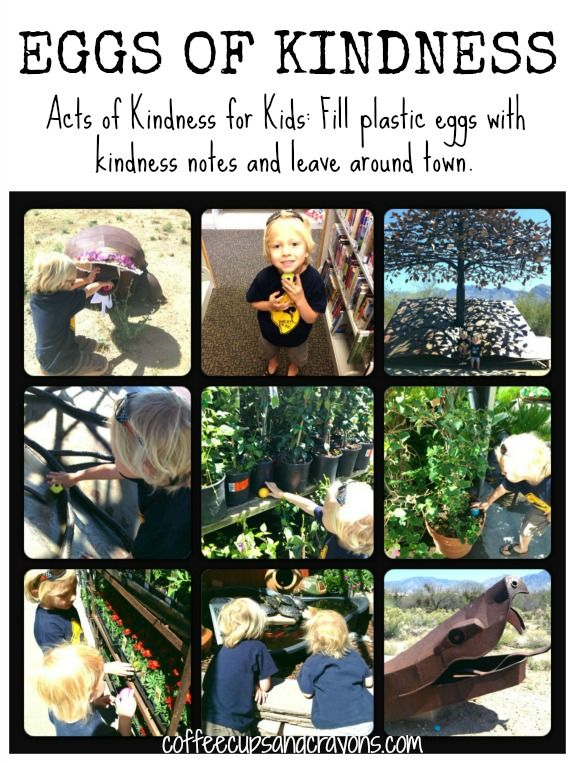 Eggs of Kindness: An Easter Acts of Kindness Idea for Kids