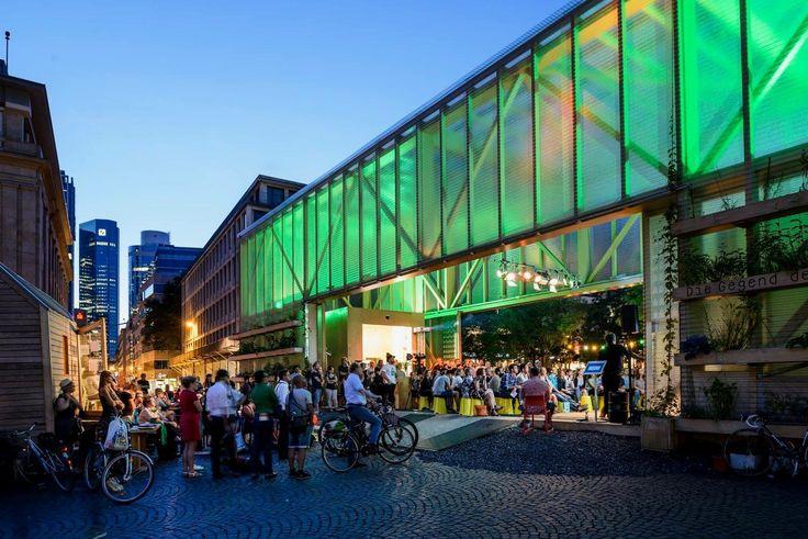 Zukunftspavillon am Goetheplatz – Mitmachen für ein grünes Frankfurt - Frankfurter GartenFrankfurter Garten