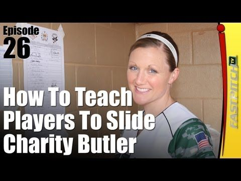 "Softball Drills & Tips: How To Slide How To Teach Sliding? This week I bring you Charity Butler as she answers the question, ""How do I teach my players to slide?"" Visit Fastpitch Chat's website at http://FastpitchChat.com"