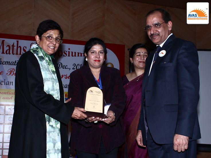 AVAS Franchise awarded by Dr Kiran Bedi
