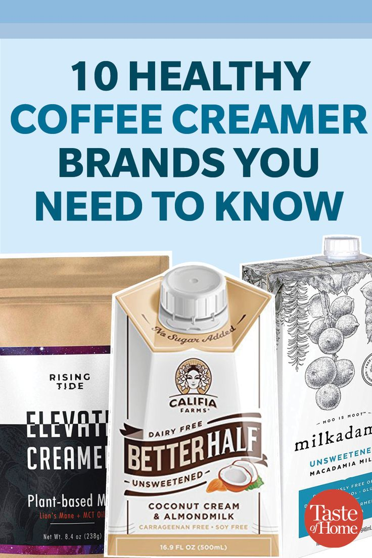 10 Healthy Coffee Creamers You Need to Know   Coffee ...