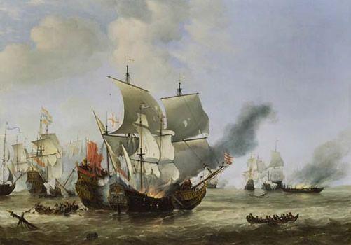 Los brulotes en la Edad Moderna: terror incendiario a flote | Mundo Historia