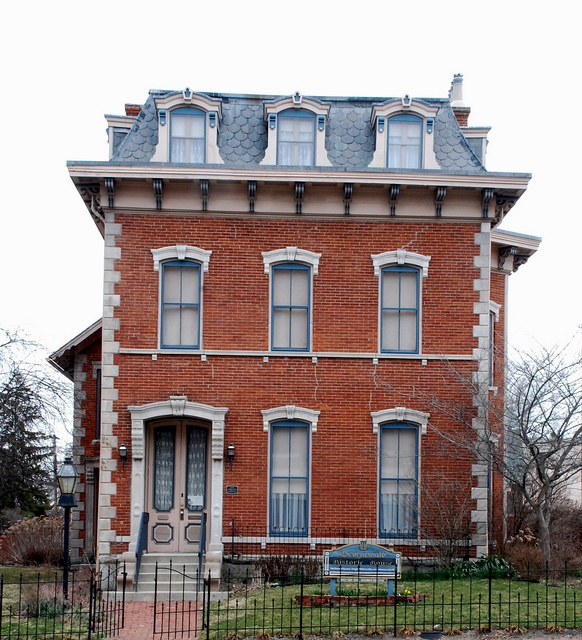 Haunted Places In Cambridge Ohio: 19 Best Indiana Second Empire Houses Images On Pinterest