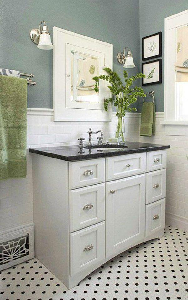 Kleines Badezimmer Dekorieren Tipps Arbeitsplatte Kleines Bad