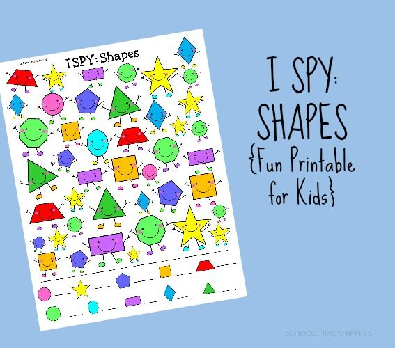 325 Best Images About Shapes For Kids On Pinterest