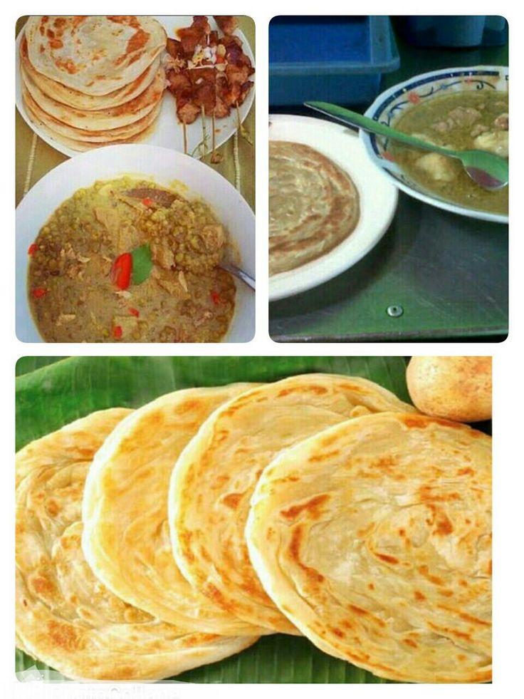 Gulai Roti Maryam. Sambil mengenang sejarah kota Surabaya wajib menikmati sajian kuliner malam di  jalan Sasak /Kh. Mas mansur kawasan Makam Sunan Ampel . Hemmm .....