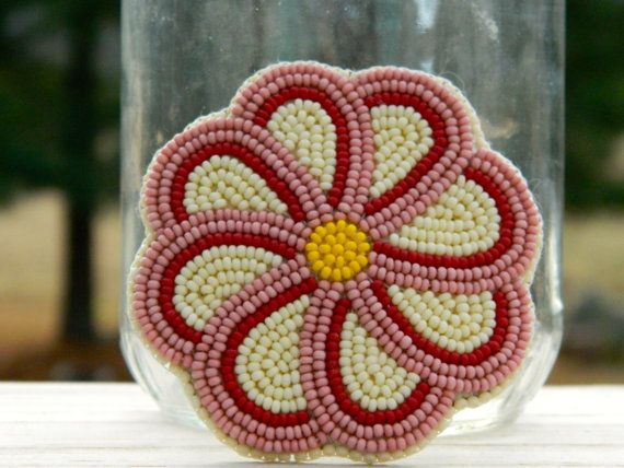 Flower Barrette by LostBirdArt on Etsy, $45.00. Made by my amazing daughter