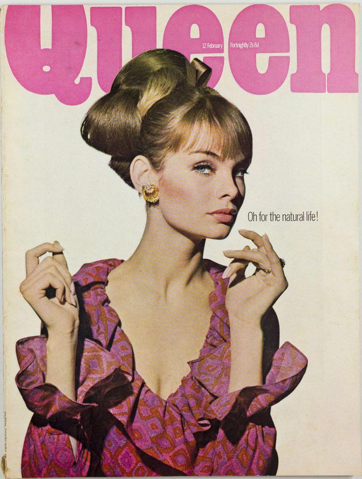 JEAN SHRIMPTON William Klein EDINA RONAY Mary Quant Queen magazine vtg | eBay