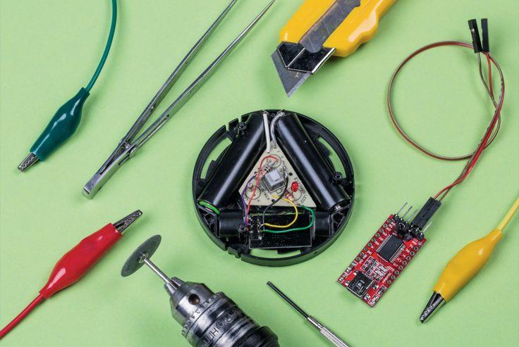 Batteriebetriebene IoT-WLAN-Buttons selbst bauen und programmieren