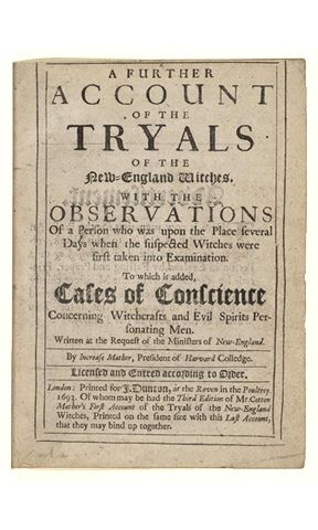 salem witch trails 1691 1693 Salem witch trials 1692 - 1693 the salem witch trials were a series of hearings and prosecutions of people accused of witchcraft in colonial massachusetts.