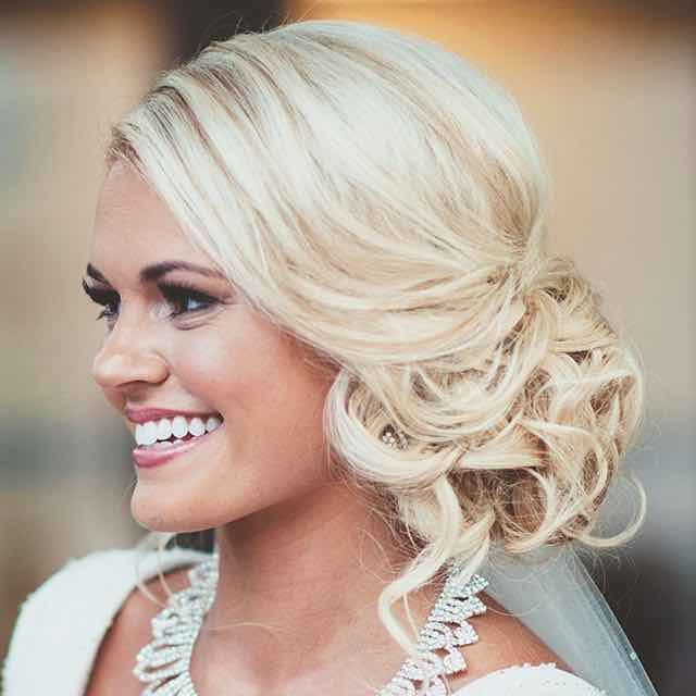 Miraculous 1000 Ideas About Wedding Hairstyles Side On Pinterest Loose Short Hairstyles Gunalazisus