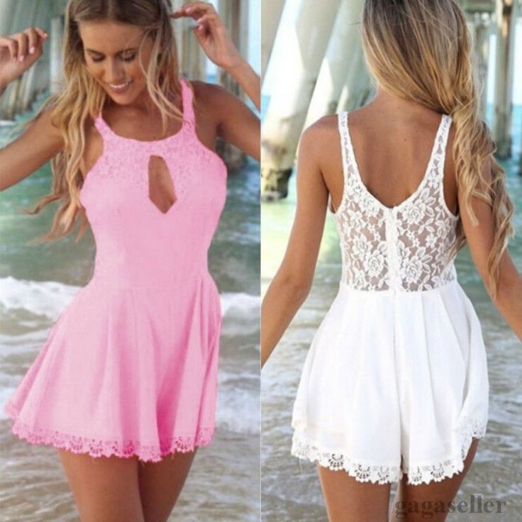 12.00$  Buy now - http://viudk.justgood.pw/vig/item.php?t=myedt455210 - Sexy Women Boho Loose Play Suit Party Jumpsuit Shorts L 8- and ,M 6- Fit