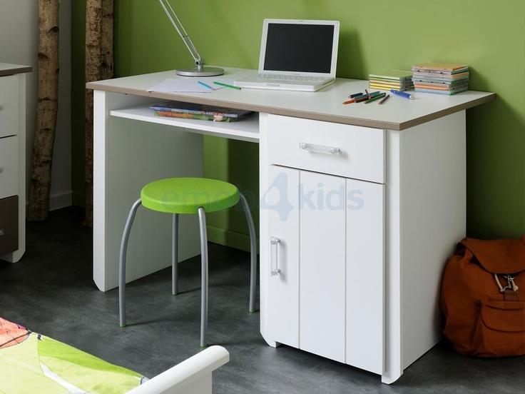 Biotiful taupe kinder bureau ruime keuze mooie bureaus for Ikea ladeblok hout