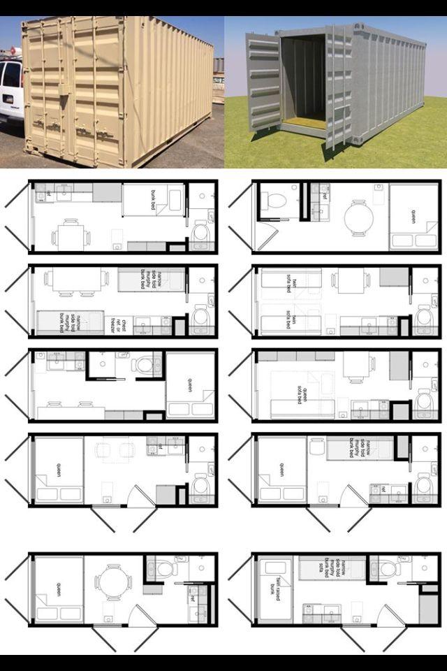 Narrow space layout ideas