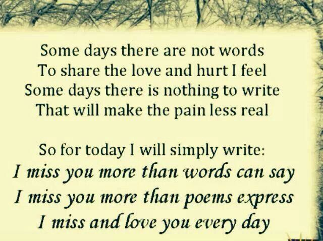 even after all these years...I still miss all of you so...it only seems like yesterday you were here...   in the blink of an eye things all change...
