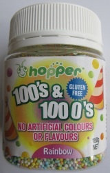 Hopper: Natural Sprinkles product range for cakes, party food.