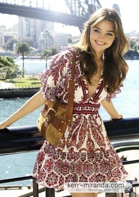 LOVE this dress and Miranda