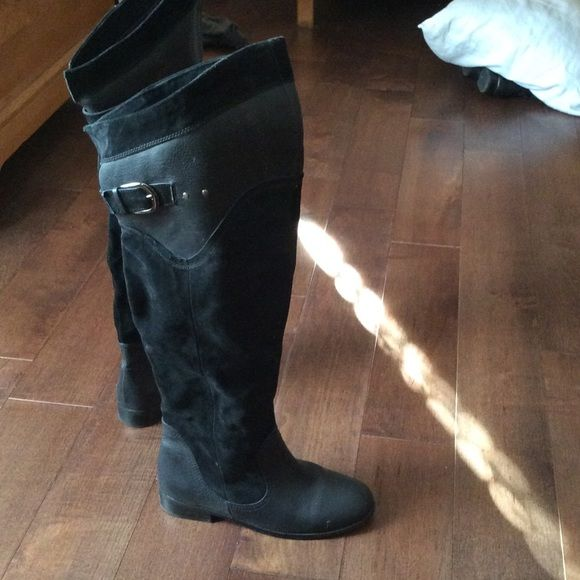 Over the knee boots From Victoria's Secret website, excellent condition boots size 9 Victoria's Secret Shoes Over the Knee Boots